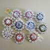 Fashion crystal rhinestone button