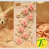 Beatiful pearl rhinestone cell phone covers(CP-423)