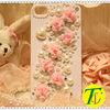 Beatiful pearl rhinestone cell phone covers(CP-423)