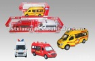 1:32 Diecast Rescue car
