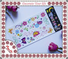 Butterfly party favor Water transfer temporay sticker