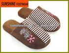 men warm winter indoor soft slippers