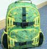 2012 lastest design fashion daily bag for climbing cycling camping bag blue backpack boys school bag