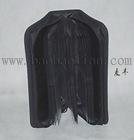 black portable CD storage bag