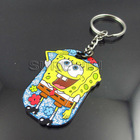 Cute animal cartoon animation metal keychaincustomized