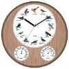 hygrometer thermometer Bird Sound Clock