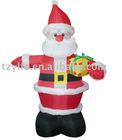 inflatable christmas santa