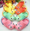 lovely carton slippers for kids