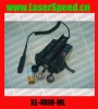 Military red laser with infrared laser combo hunting sight