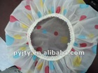 Gold sun shower cap
