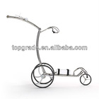 2012 Smart stainless steel electric golf caddy with motor brake