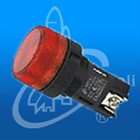 28.5mm LED BA9S neon bulb industrial waterproof plastic push-button/push button switch SB7