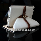 Deluxe Belt Buckle 360 Rotation Leather Case for iPad Mini Retro Folio Pouch Style