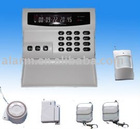 LCD display gsm alarm system wireless
