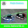 nylon flashing led dog collar