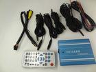 Mini SD card 4 channel car video recorder