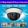 1.3 Mega Digital Video Recorder CCTV IR Dome Camera with Motion Detection