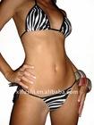Zebra Printed Hot sale ladies sexy Brazilian bikini