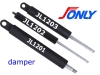 Damper for sliding door, drawer damper (manufacturer)