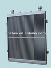Aluminum plate fin construction machinery radiator