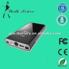13500mAh external portable battery bank MP3450L Auto Type for digital device / laptop/ mobile Phone and so on.