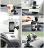 Modern design cell phone stand for iphone and two kinds of sharpes for car,desk, bed