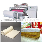 High speed quilting machinery