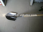 2012NEW ITEMS- Round mouth shovel with wood handle