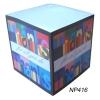 Sticky Paper Cube