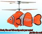 2012 3CH RC helicopter ,RC Fish,RC Clown fish