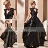 Coniefox 2012 Latest Black Lined Sexy Formal Evening Dress 81258