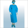 Spunlace fabric surgical gown