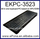 Special All in One Keyboard PC based on APU E350