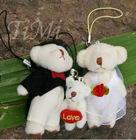 Min Bear Cell Phone MP3/MP4 Charm Strap Chain Lovers