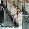Outdoor wood handrail railings YG-B6