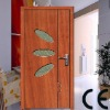 Novel style! MDF interior door with glass