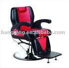 2012 luxury barber chair with hydraulic pump salon chair BX-2680A (hydraulic pump&chromed base)