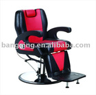 2012 luxury barber chair with hydraulic pump salon chair BX-2680A (hydraulic pump&chromed base)