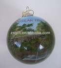 fashionable factory supplied glass ball christmas decor