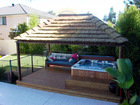 Bali thatch roof