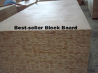 2012 Best-seller perfect quality block board