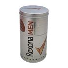 Cylinder shape coffee tin box