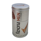 Cylinder shape coffee tin box