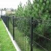Steel post fence