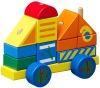 wooden block machineshop car