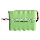 Jintion Rechargeable NI-MH Battery Pack With AAA 650mAh 7.2V (2012 New Item )