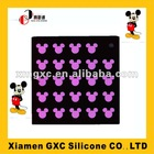 Mickey mouse rubber mat