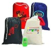 non woven simple cooler bag/drawstring bag with logo printing for food