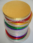 colorful cardboard bases for pies