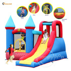 Red Bricks Castle-9007 Jumping and Sliding Bouncer 2013 New Design